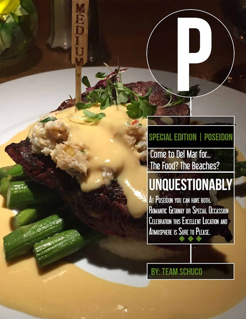 Gourmet Gossip | If You Love Fine Dining at Sunset, Then You'll Love Poseidon in Del Mar