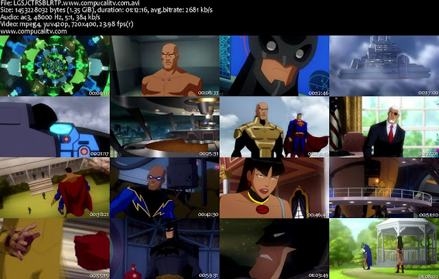 Liga de La Justicia Crisis En Dos Tierras DVDRip Español Latino Descargar