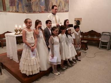 Primeres comunions A la parròquia 2012