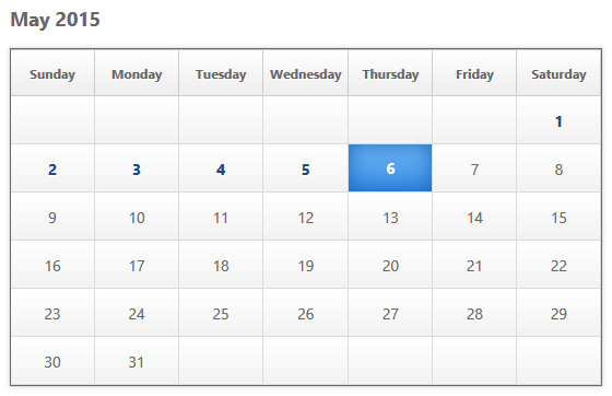 Membuat Kalender Sederhana dengan PHP, HTML dan CSS
