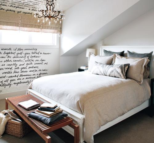 Decorole Dormitorio A Los Pies De La Cama