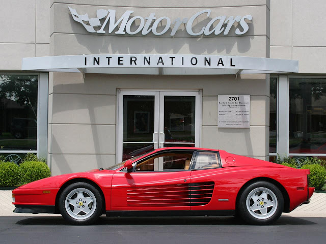 Ferrari sports cars Ferrari Testarossa