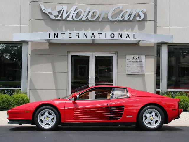 Cool Ferrari cars - Ferrari Testarossa