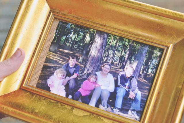 2000s family photo