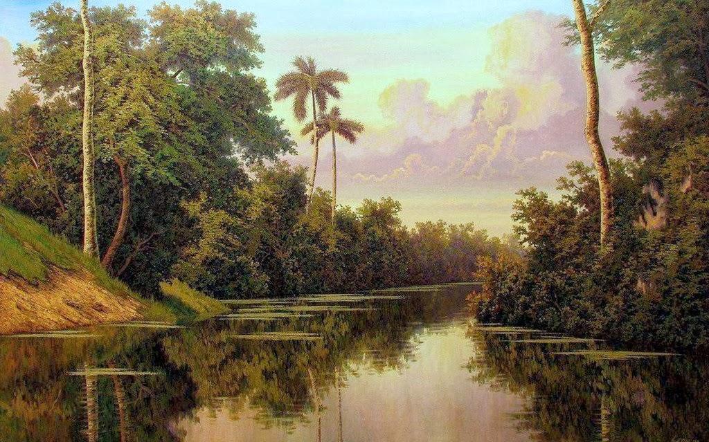 cuadros modernos pinturas y dibujos paisajes con