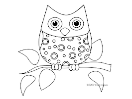 Cute Baby Owl Coloring Pages To Print