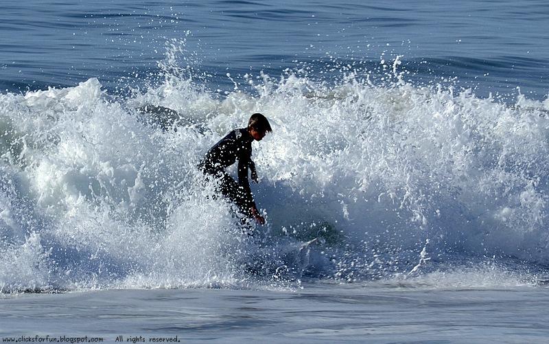 Half Moon Bay State Beach California Coastline Surfing Sea Ocean People Photos Blog