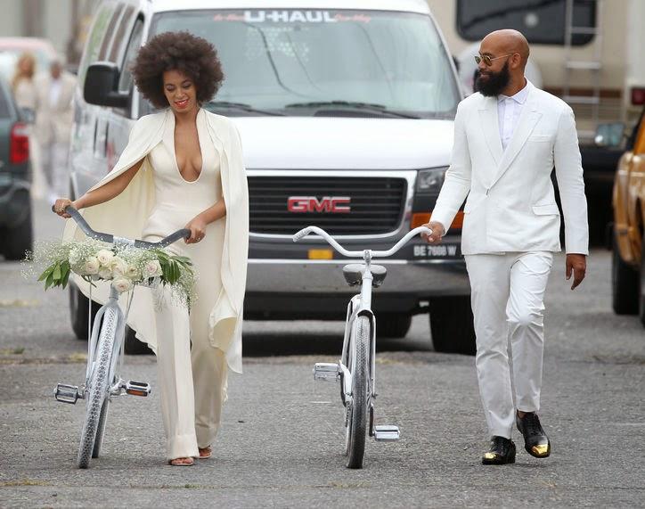 Solange Knowles: La mariée était en Afro