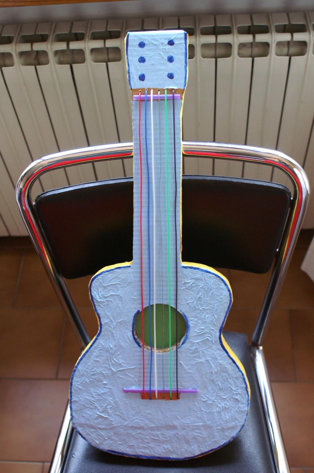 Tirami giù una chitarra creat iva