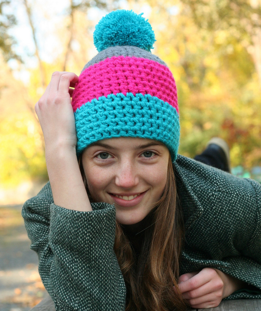 Crochet Beanie Pattern J Hook : BABY CROCHET BEANIE PATTERN Crochet Patterns