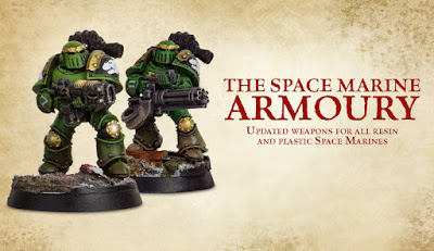nuevas armas pesadas y especiales para tus Marines