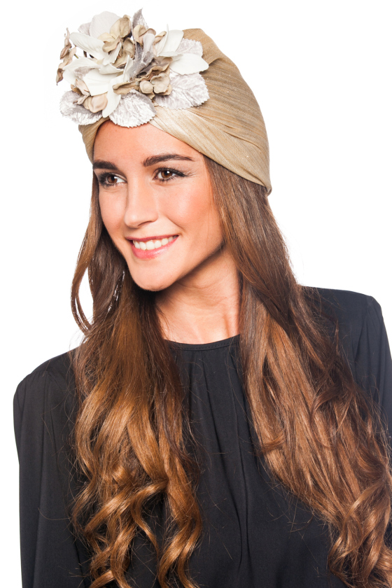 La moda en tu cabello peinados con turbantes 2016 for Turbante boda
