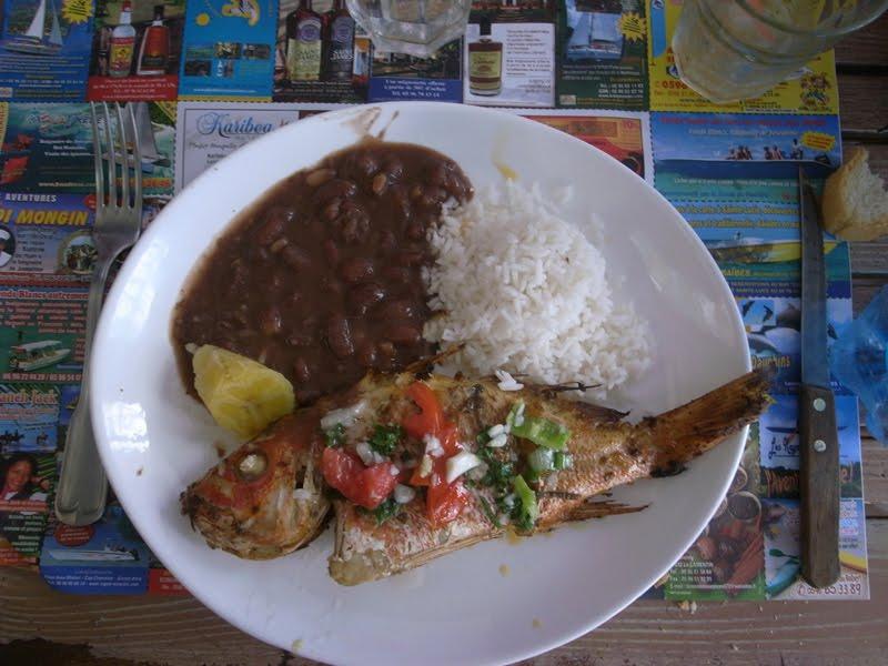 Martinique slop for Cuisine martinique