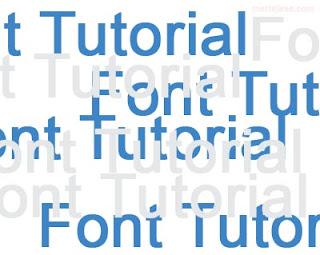 Font tutorial twinkle blink Cara membuat tulisan / Huruf bergerak berjalan