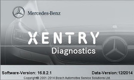 Download Mercedes DAS.XENTRY 12.2014 Free Software
