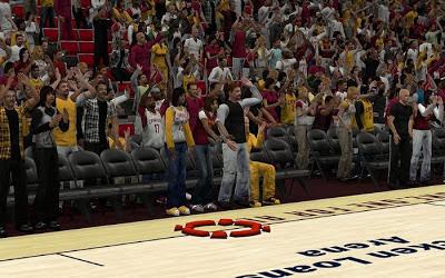 NBA 2K13 Cleveland Cavaliers Crowd Fix