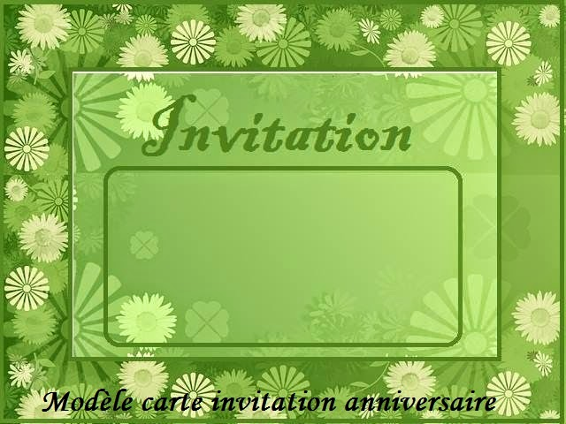 modele carte invitation anniversaire texte anniversaire sms anniversaire po me anniversaire. Black Bedroom Furniture Sets. Home Design Ideas