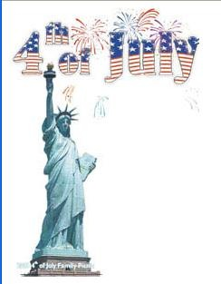 Estatua de la Libertad 4 de Julio