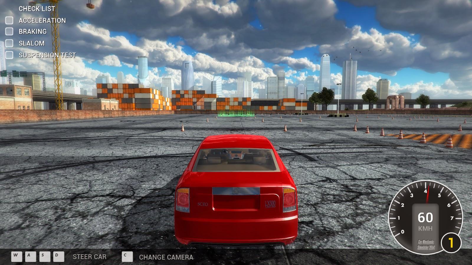 Night crow garage car mechanic simulator 2014 for Garage ww auto