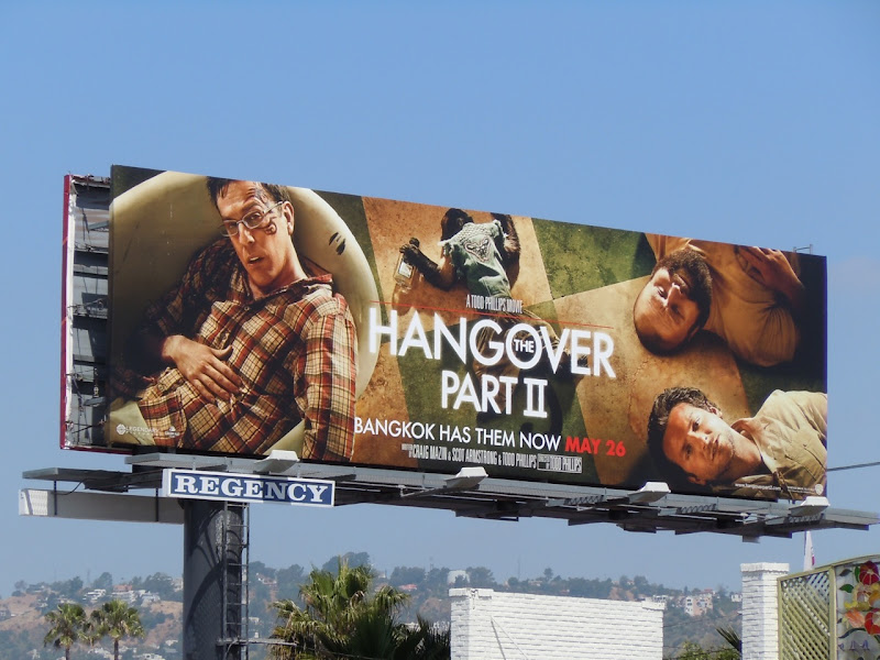The Hangover Part II billboard