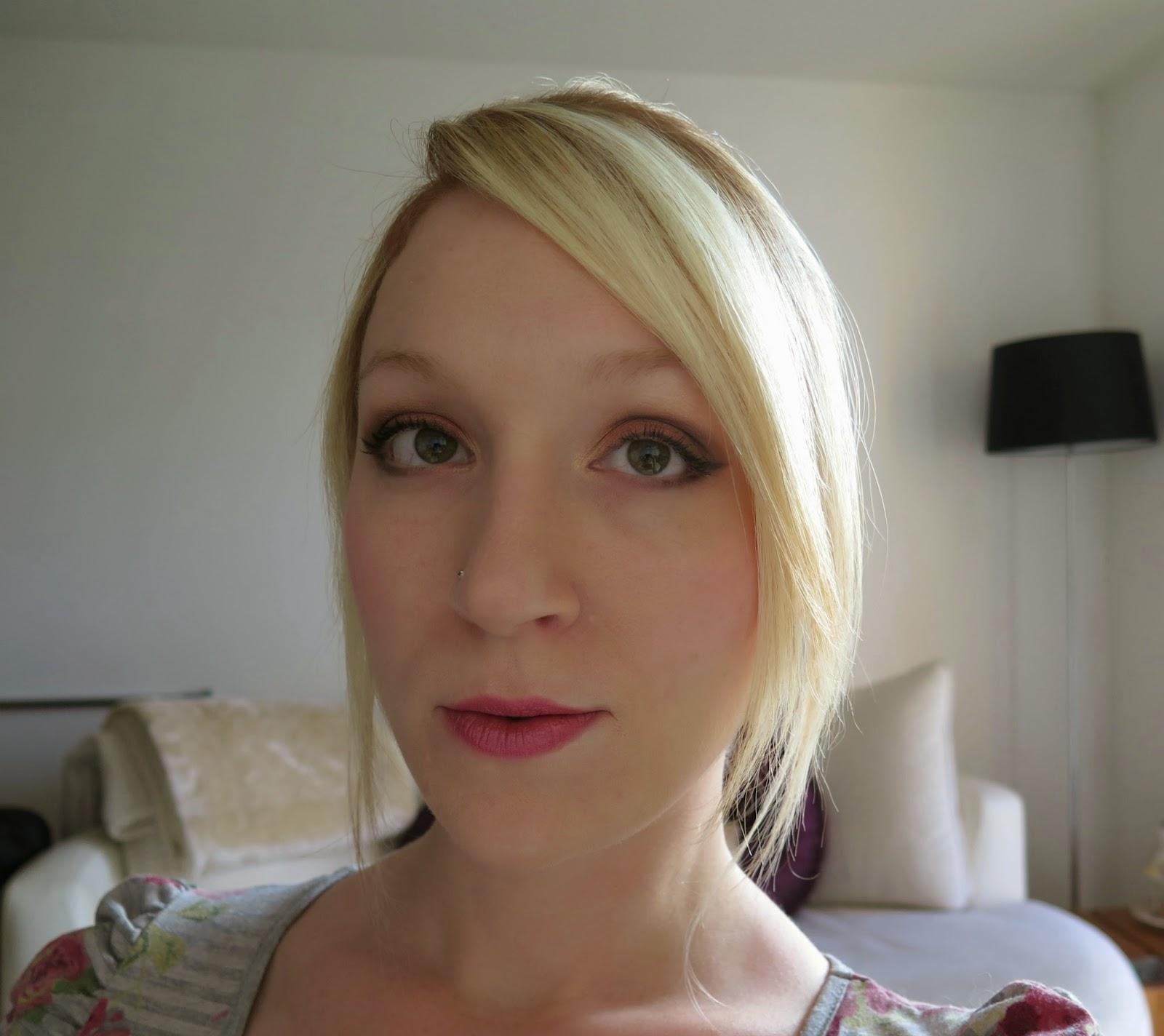 Bronze smokey eye, Michelle Louise Love