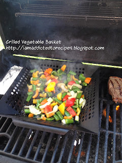 Grilled Vegetable Basket | Addicted to Recipes