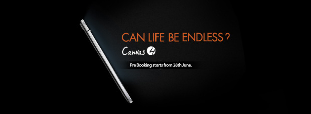 Micromax canvas 4 : a flagship smartphone