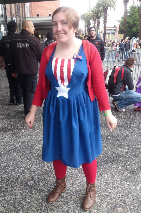 Captain America Gender Swap Cosplay