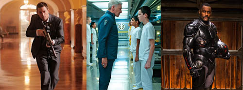 White House Down Ender's Game Pacific Rim