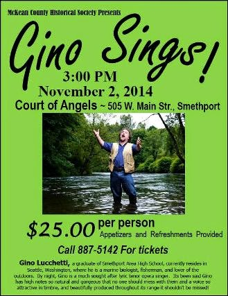 11-2 Gino Sings, Smethport