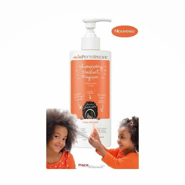 """Mon avis sur le """"shampoing démêlant magique"""" pour enfants de Phytospecific"""
