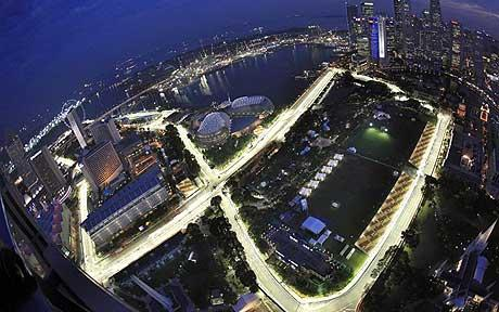 F1 2012 : F1 Live Weather forecast : Singapore GP 2011 : : Formula ...