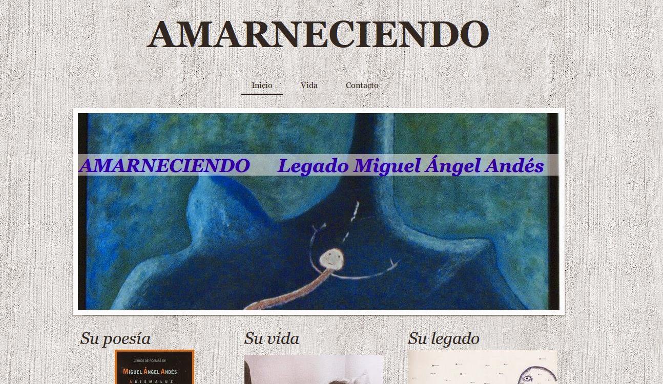web para Amarneciendo