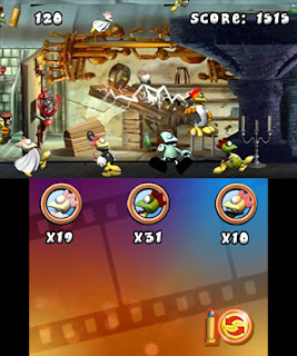 Crazy Chicken 3DS Review