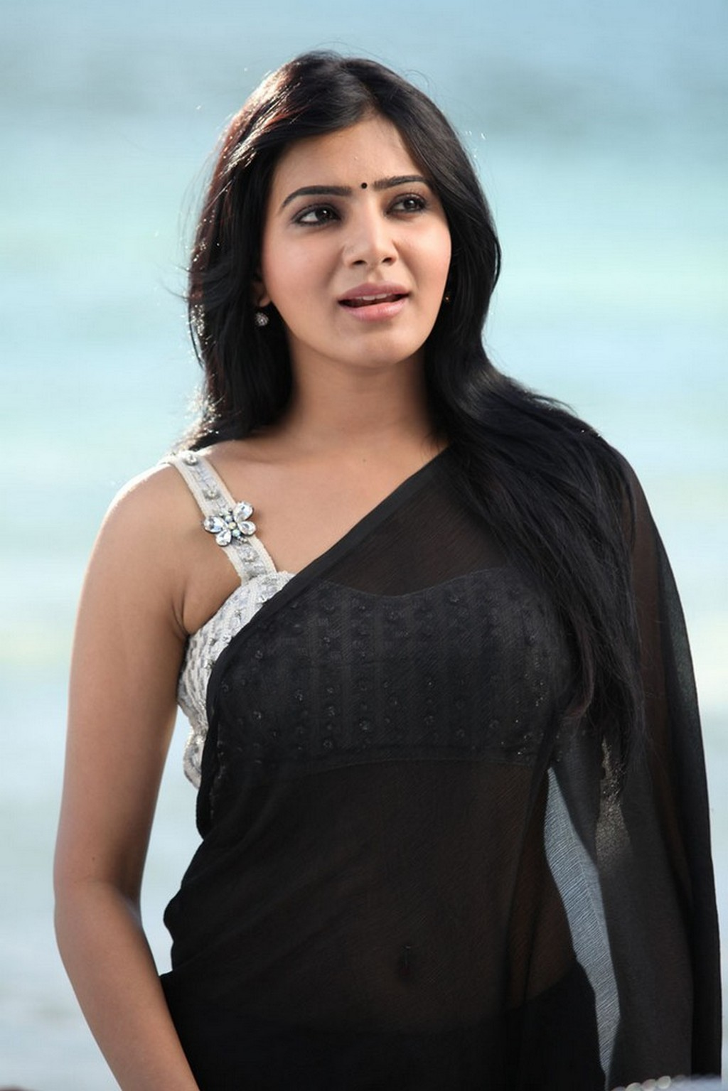 samantha hot stills in saree | samantha