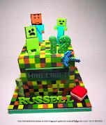 MINECRAFT CAKE SINGAPORE / 3D MINI CUBE CAKE