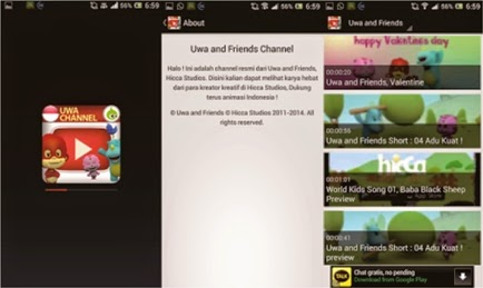 Download Game Uwa dan Friends