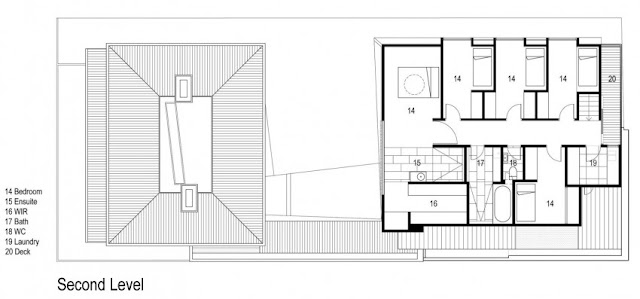 second floor home design plan