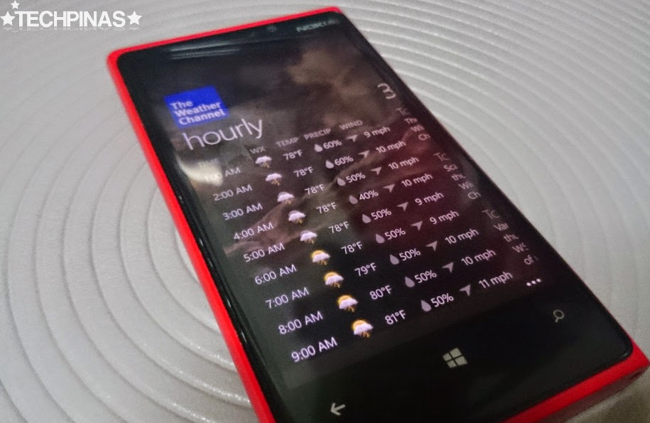 Windows Phone Apps for Rainy Season