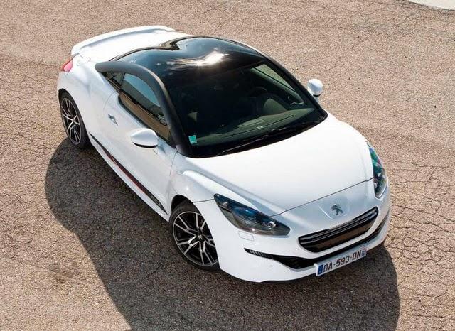 White 2015 Peugeot RCZ Specs
