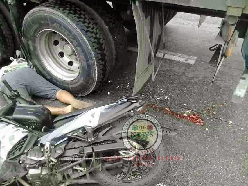 Kemalangan Maut Antara Motosikal Dan Lori Di Simpang Empat Ke Ulu Yam
