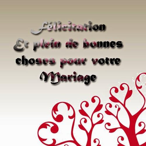 Cartes heureux mariage