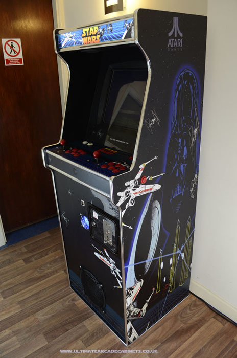 custom star wars arcade artwork