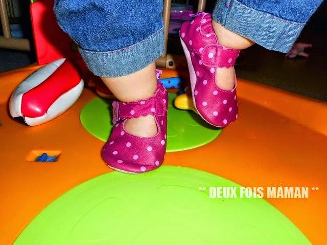 chaussons de qualité bébé