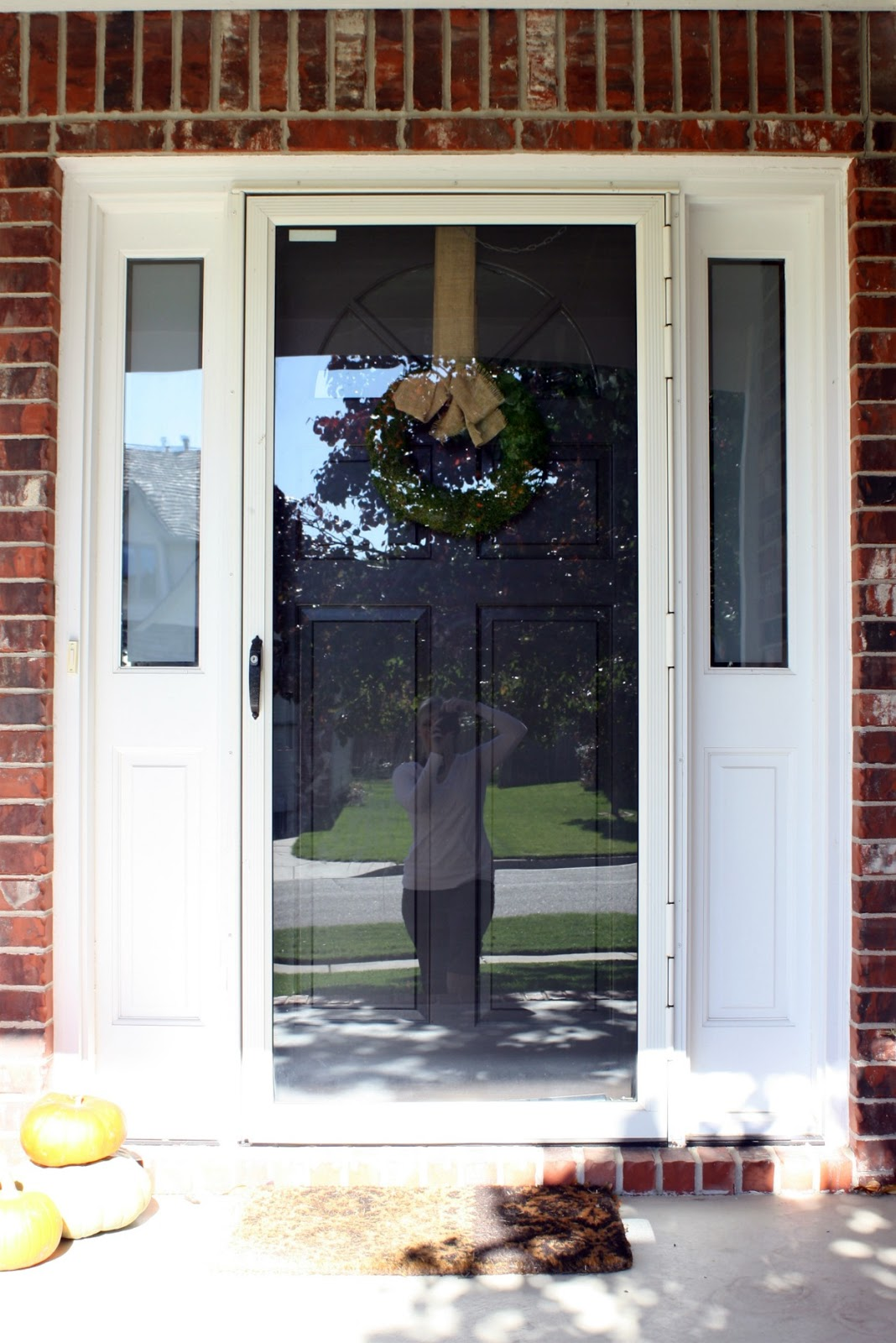 just say no to storm doors - tutorial - Crazy Wonderful