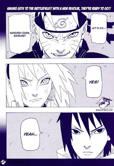 Naruto, Sakura, dan Sasuke