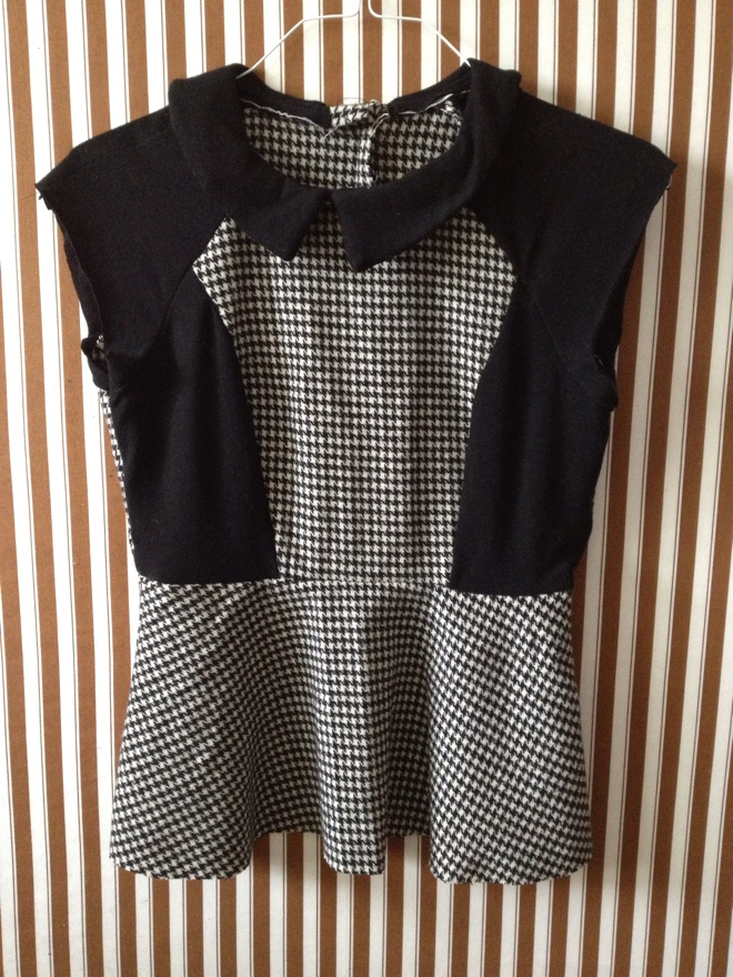 Black and White Challenge Update on Diane's Vintage Zest!  #sewing #fashion