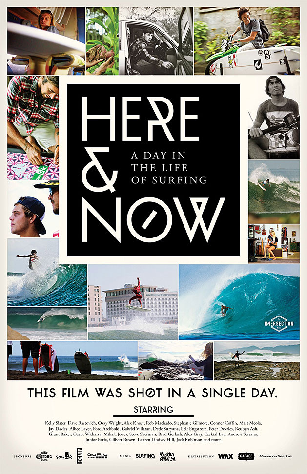 Here & Now surf movie - Taylor Steele, Nathan Myers