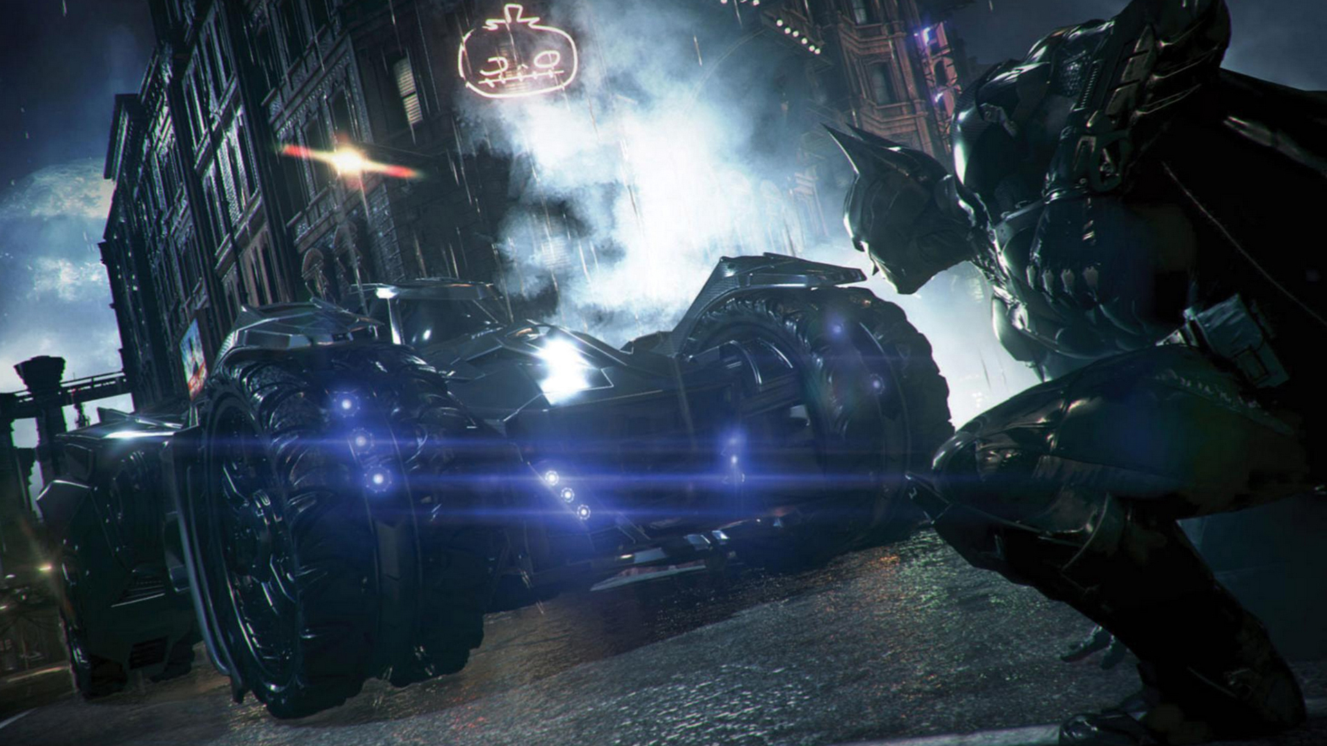 Arkham Knight New Batmobile 2f Wallpaper HD