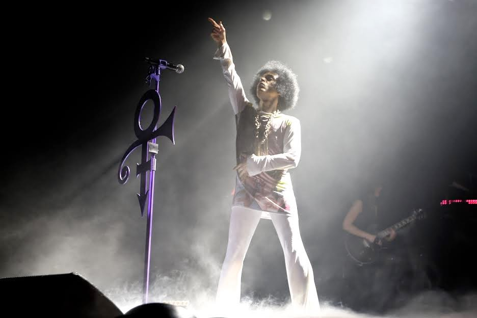 Prince and 3RDEYEGIRL London shows